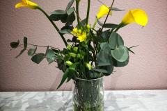 Blumenabonnement mit Calla