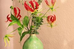 Blumenabonnement mit Gloriosa