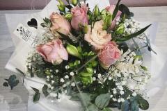 Blumenstrauß rosa-weiß
